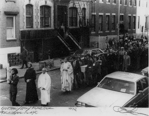 IMAGE, FUNERAL PROCESSION